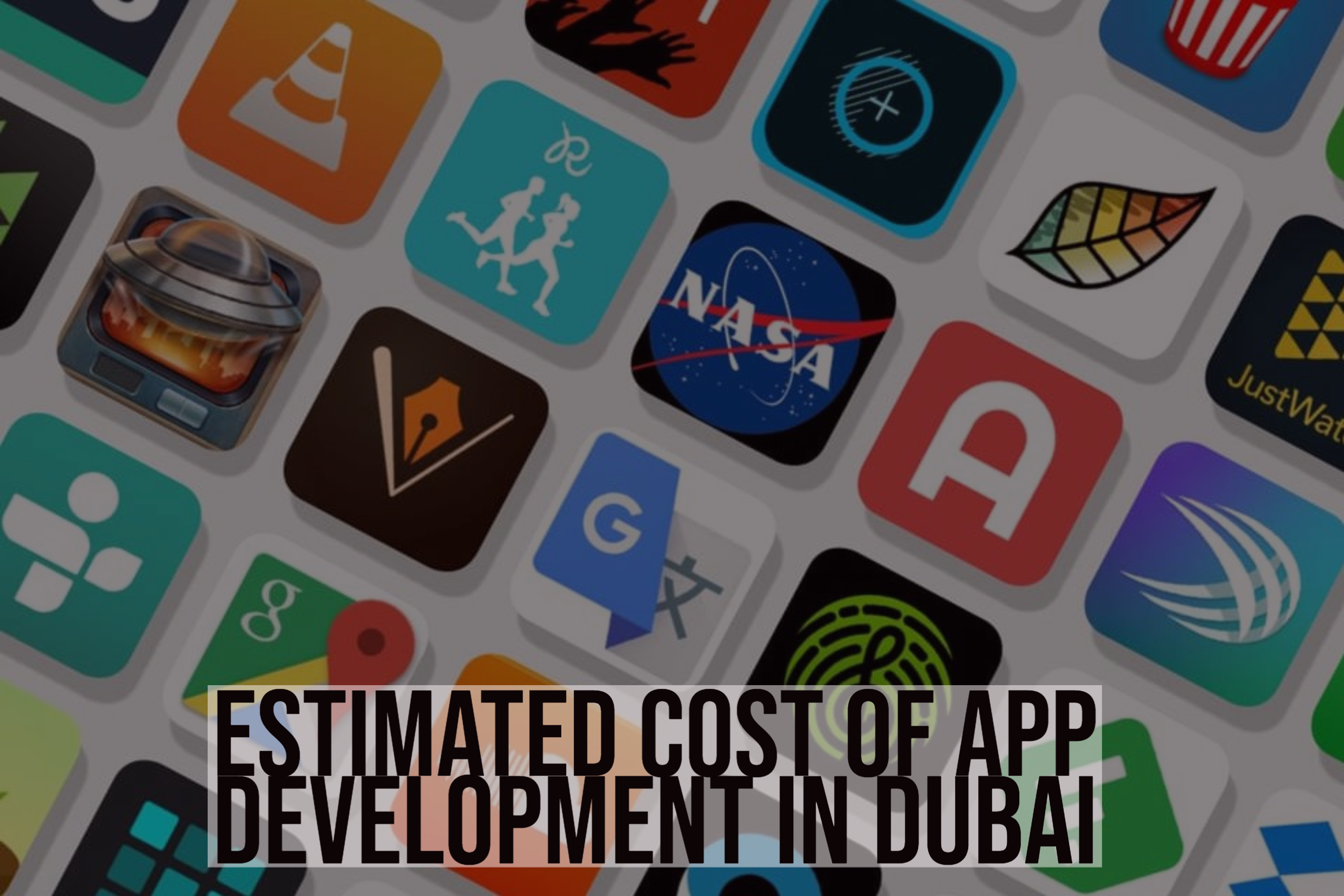 Estimated Cost of App Development in Dubai